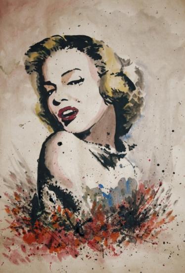 Marilyn Monroe por dandeel